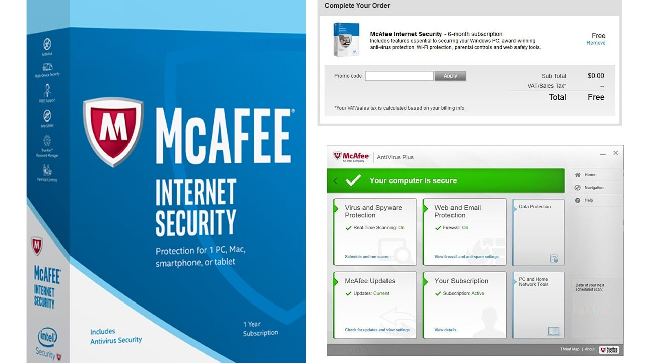 McAfee Internet Security 19.0 Crack + License Key Download [2019]