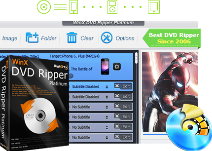 WinX DVD Ripper Platinum 8.9.0 Crack & Keygen Free Download