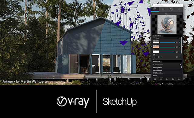 V-Ray 3.60.04 Crack for SketchUp Torrent Free Download