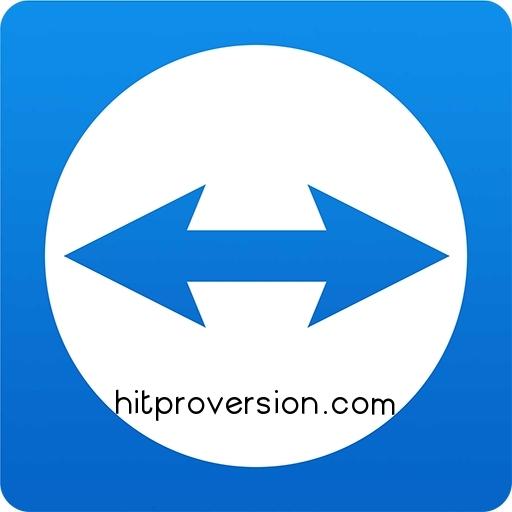 Logo of TeamViewer 14.5.5 Crack + License Key Free Download [2019]