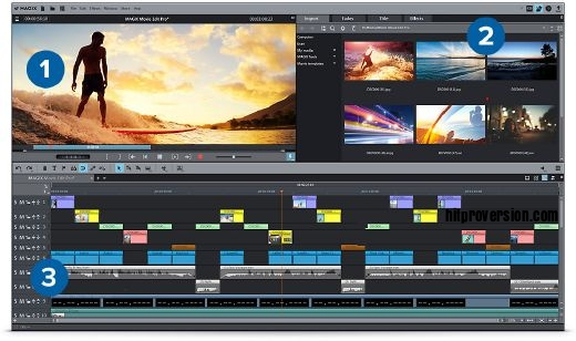 MAGIX Movie Edit Pro v19.0.2.58 Crack + Keygen Free Download