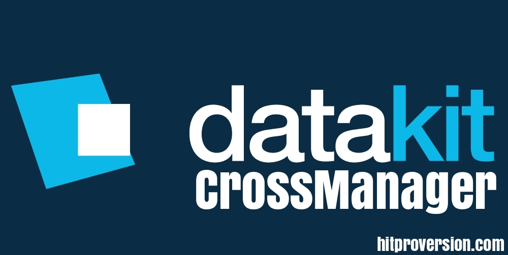 DATAKIT CrossManager 2020 Crack With Key Free Download [Latest]